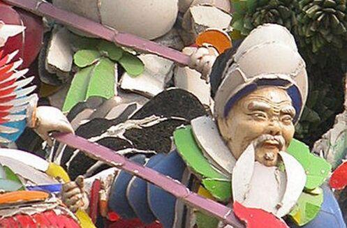 國寶級泥塑像 隱身北港公園