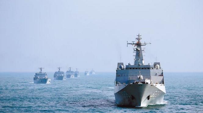 解放軍海軍18日將於台灣海峽實彈演習