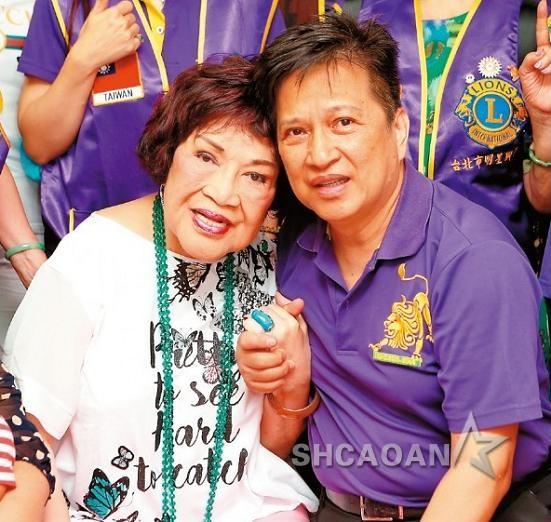 80岁周游小10岁的第3任丈夫李朝永和小三开房、车震被拍到