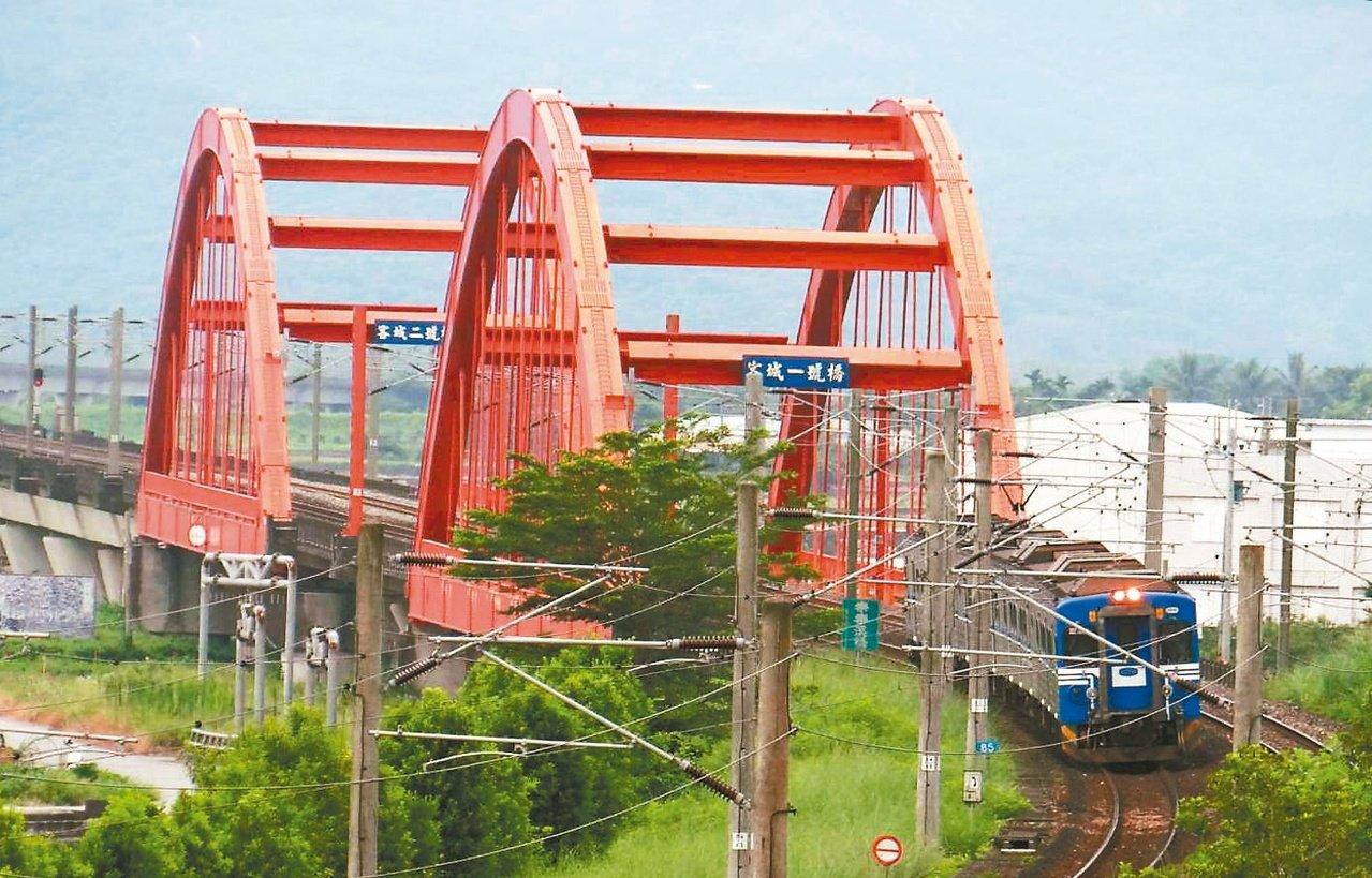 台鐵橋梁體檢 3鋼構橋特別檢測
