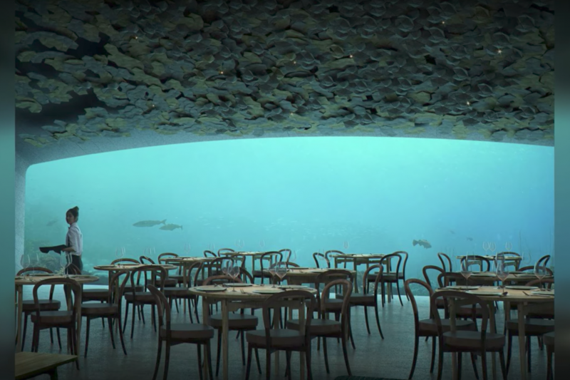 挪威將開設歐洲首家海底餐廳 飽覽美景兼顧環保