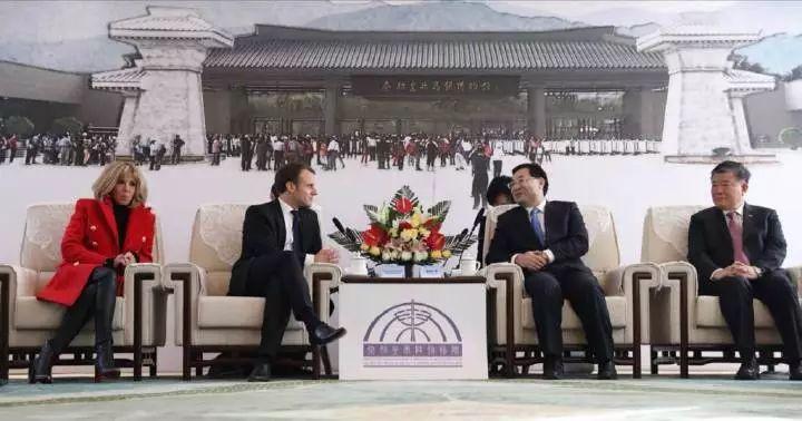 马克龙54小时访华行程显示对华重视 中法合作令世界瞩目