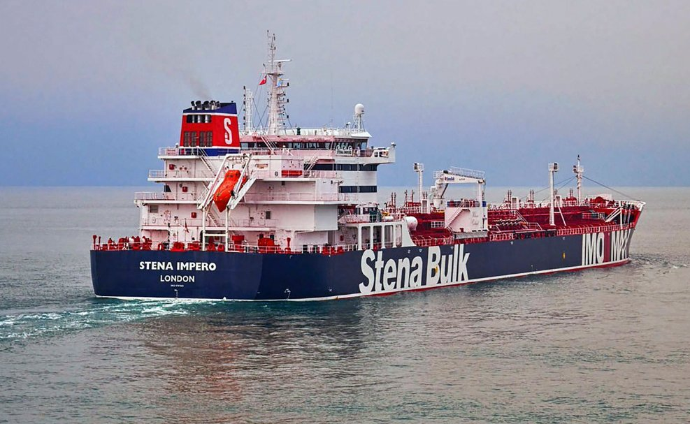 波灣緊張升高!一艘英國油輪在荷姆茲海峽遭伊朗扣押