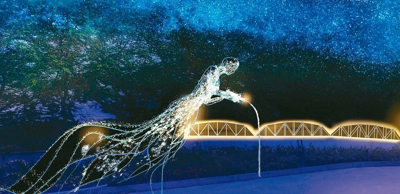 台灣燈會拚仙氣 「飲水思源」挑戰5米高創作