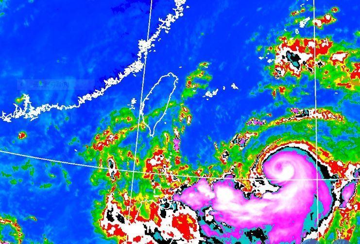 利奇馬颱風撲向北台灣 大武崙溪屢傳水患加強警戒