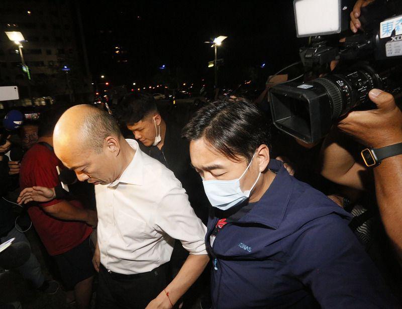 韓國瑜被罷免這晚 議長墜樓亡