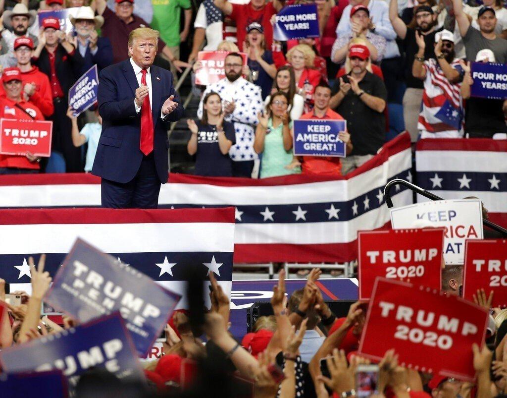 「讓美國繼續偉大」 川普展現超強群眾魅力拚連任
