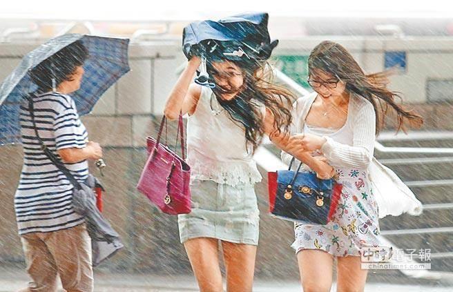 致災性豪雨明下半天襲台 累積降雨恐狂如颱風