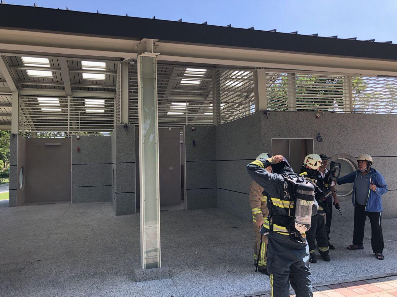 高雄228和平公園男廁馬桶遭炸毀 鎖定兩嫌