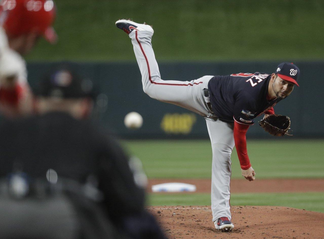 [MLB] 國民不止3巨投 桑契斯7.2局無安打鎖紅雀