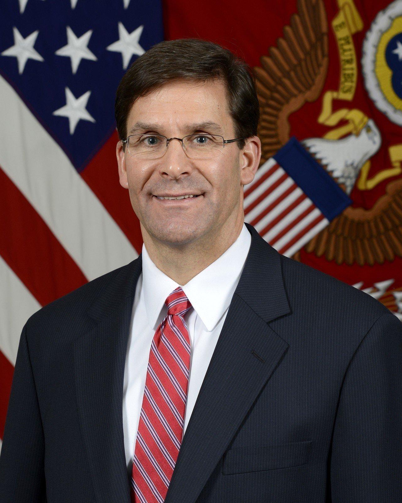 白宮宣布 川普擬提名艾思博任國防部長