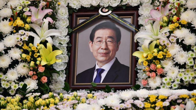 首爾市長朴元淳涉性騷擾 50萬人連署反對五日葬