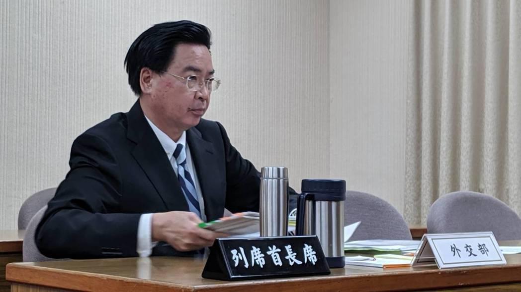 吳釗燮:韓國瑜訪美若為選舉 外交部會保持中立