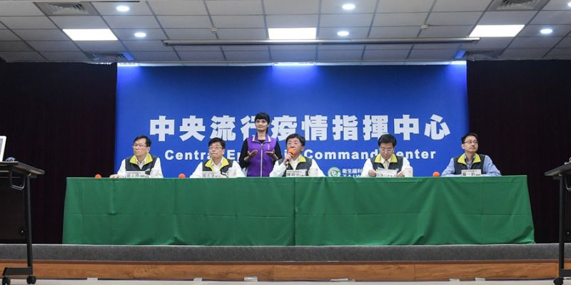 台灣無新增確診個案,45例確診中15例康復出院